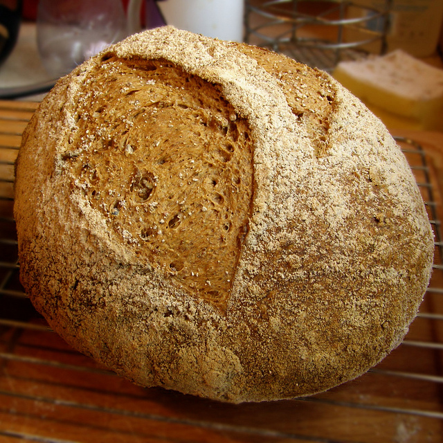 Homemade Easy No Knead Patio Bread
